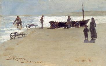 Peder S. kroyer – Skagen 1884