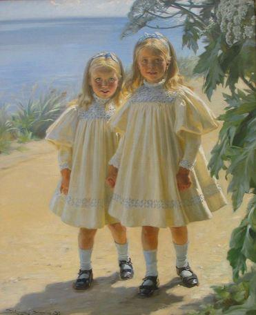 Peder Severin Krøyer – 1897 Døtrene Benzon