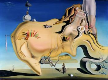 Salvador Dalì - il grande masturbatore