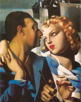 Tamara de Lempicka -1931-Idyll
