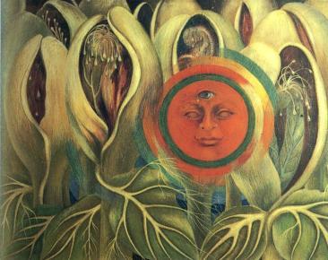 Frida Kahlo - Sun and Life