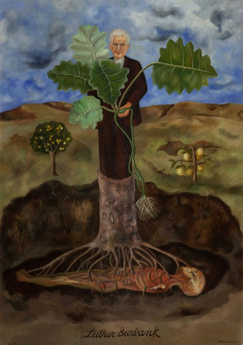 Frida Kahlo - luther-burbank