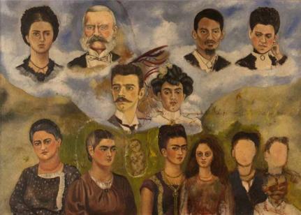Frida Kahlo - mi familia