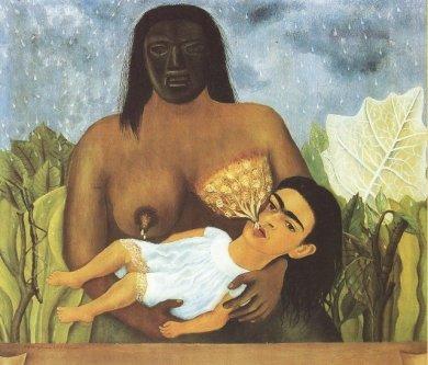 Frida Kahlo - mi_nana_y_yo1937