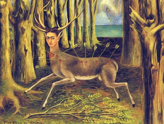 Frida Kahlo - the little deer