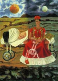 Frida Kahlo - tree-of-hope-remain-strong
