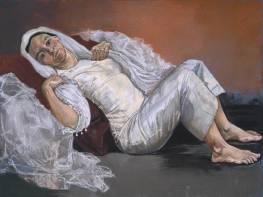 Bride 1994 by Paula Rego born 1935