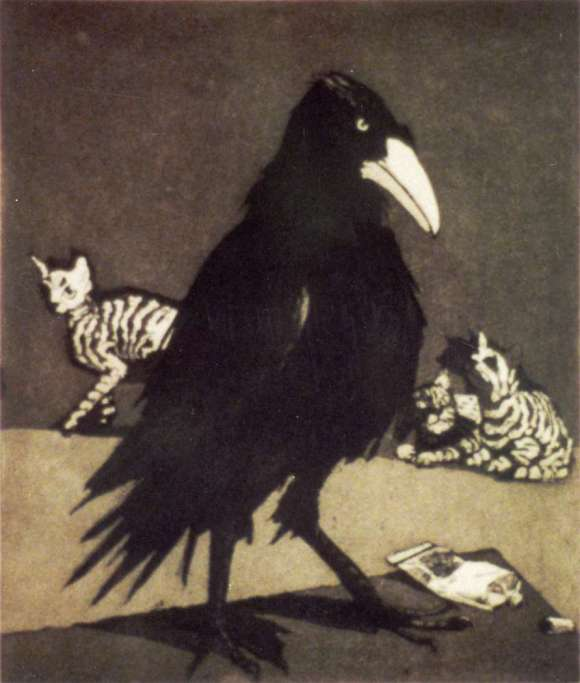 Paula Rego - The crow