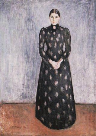 Edvard Munch -La-soeur-de-lartiste-1892