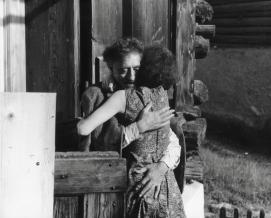 Aberto Giacometti and wife