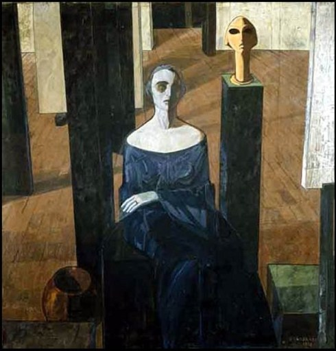 Felice Casorati - Anna Maria de lisi,1918