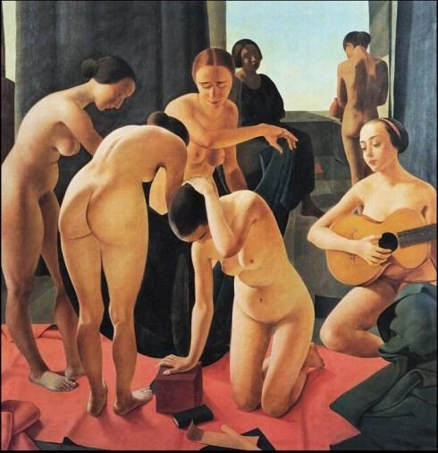 Felice Casorati - Concerto,1924