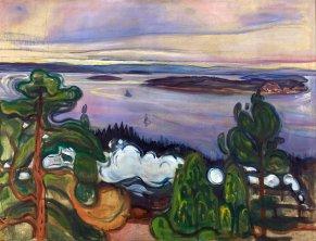 Edvard Munch - Train smoke