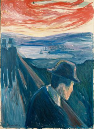 Edvard Munch - Despair, 1892