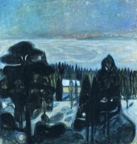 Edvard Munch - White night, 1901