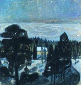 Edvard Munch - White night, 1901