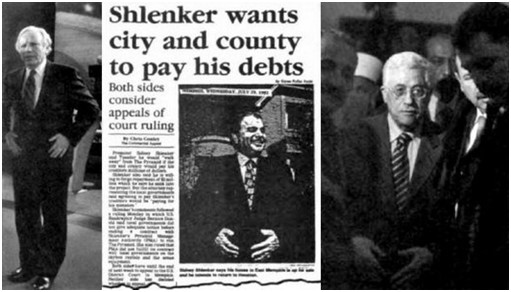 Joseph Liebennan Sidney Shlenker Palestinese Mahmoud Abbas