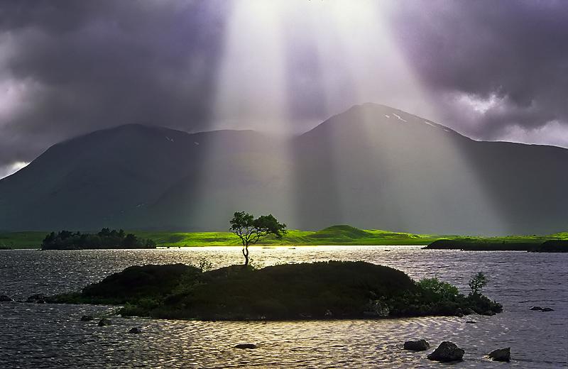 rreze dielli në ishull