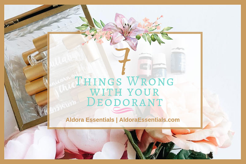 7 things wrong with your deodorant