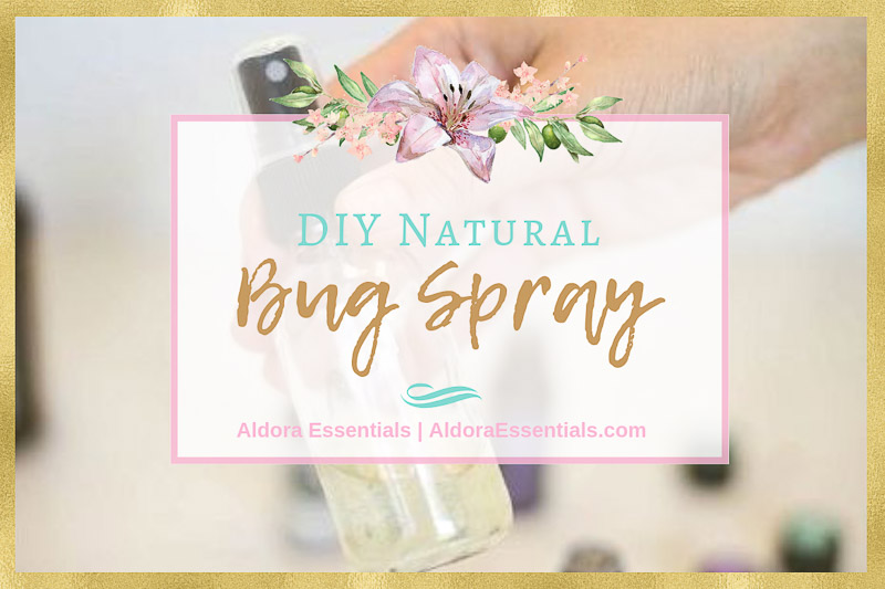 DIY Natural Bug Spray, Bug Repellant, DEET-Free, Non-Toxic, Toxic-Free, Essential Oils, Young Living, YL