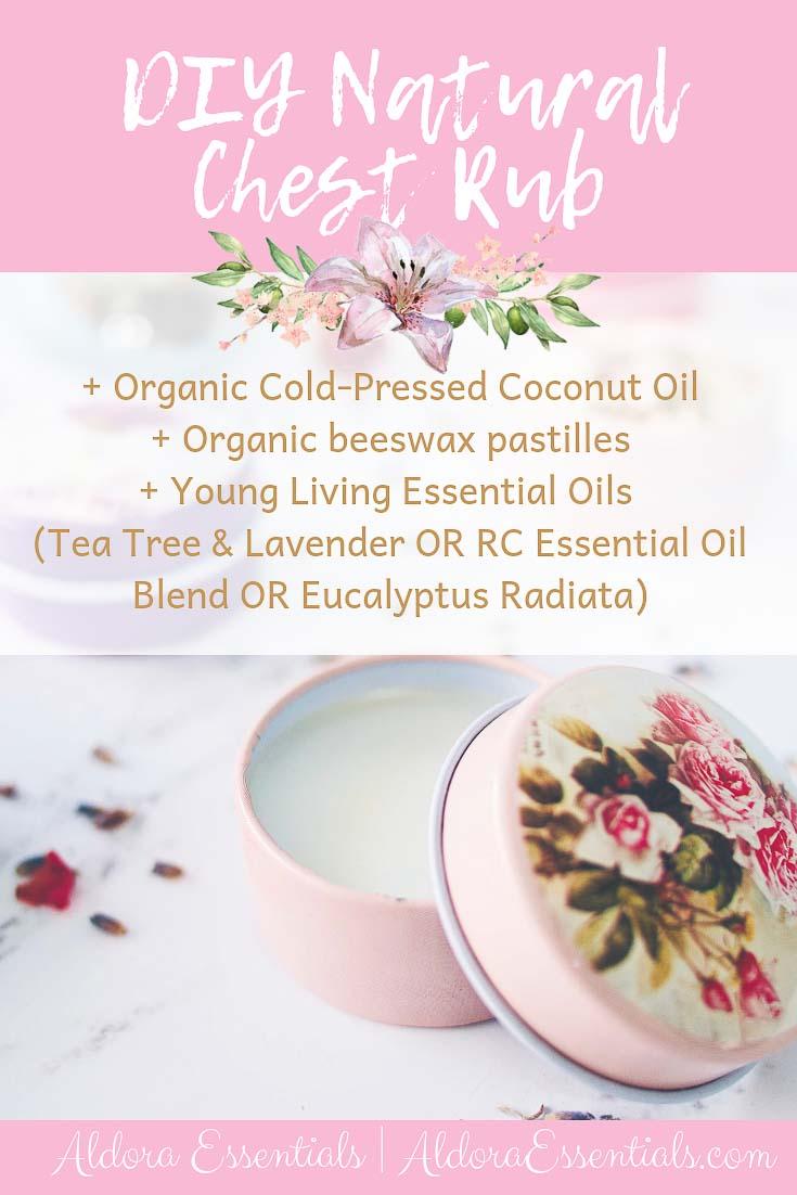 Natural Chest Rub, YL, Young Living, Essential Oils