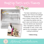 YL, Young Living, Thieves Aromabright Toothpaste, Oral Health, Gum Health, Healthy Teeth