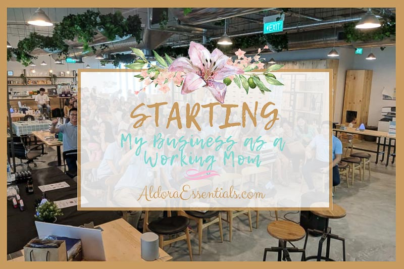 Starting my business as a working mom