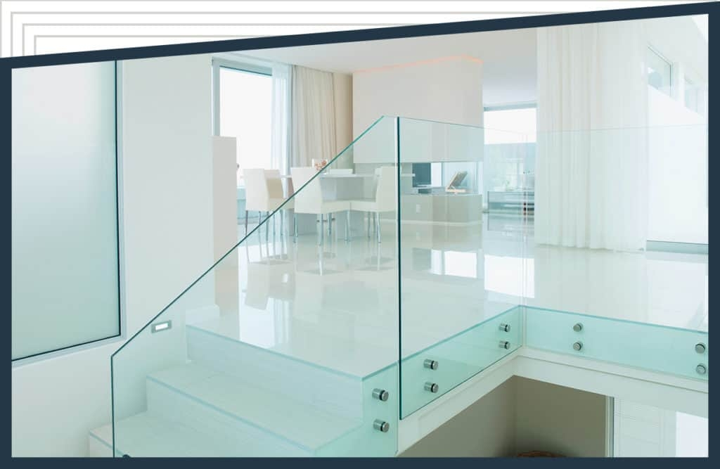 Glass Railings For Interior And Exterior Use By Aldora | Tempered Glass Stair Railing | Made Glass | Wood | Step | Indoor | Glass Design