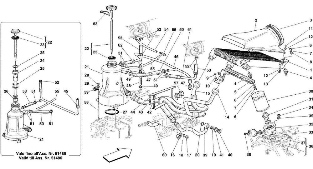 medium resolution of ferrari 360 engine oil level checks and the danger of overfilling ferrari 360 engine diagram
