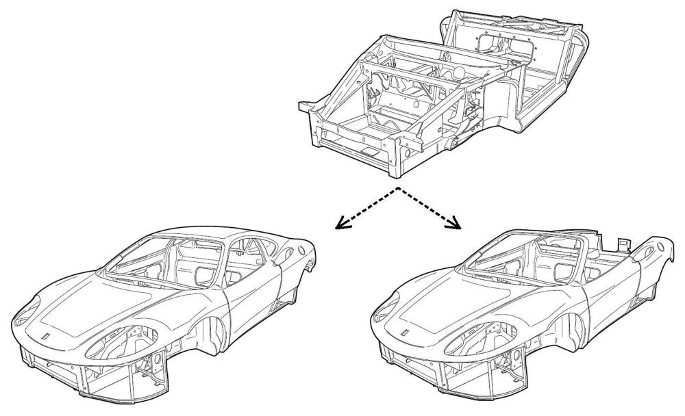 medium resolution of ferrari 360 chassis
