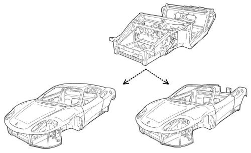 small resolution of ferrari 360 chassis
