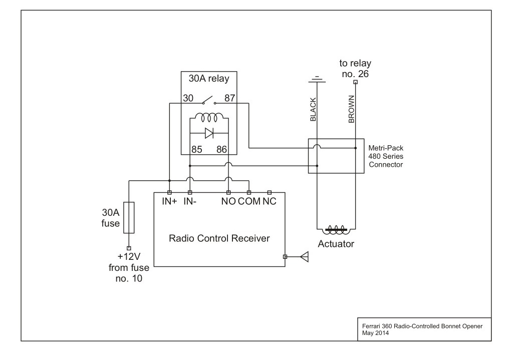 spst relay wiring diagram