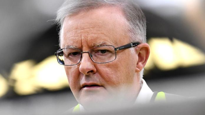 Anthony Albanese says Scott Morrison 'dared' manufacturers to leave