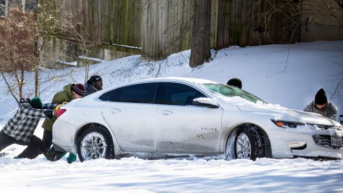 Four million Texans left without power as extreme cold freezes southern state