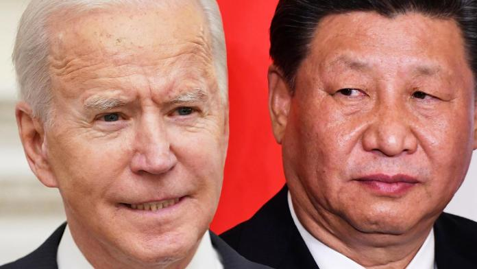 Joe Biden says Xi Jinping 'most serious competitor' to US as South China Sea freedom under threat