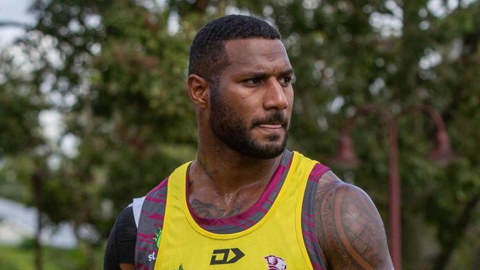 Star Reds recruit and Melbourne Storm premiership winger stood down after a late night incident