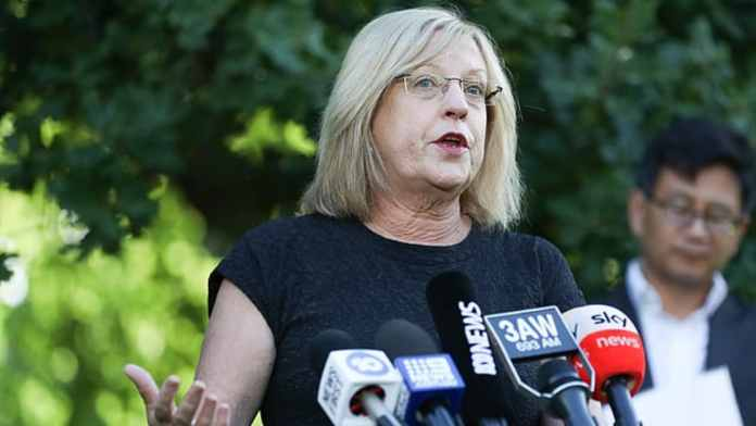 Victoria's Police Minister Lisa Neville admitted to hospital