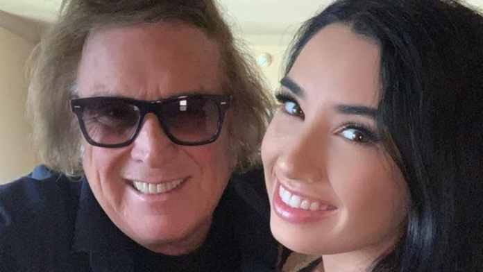 American Pie singer Don McLean crazy about dating 27-year-old model Paris Dylan