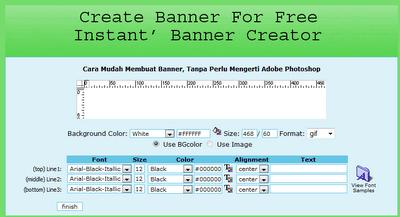 Cara Membuat Banner Dengan Mudah