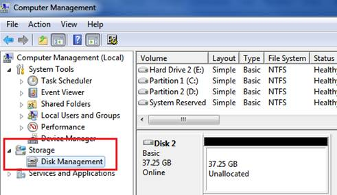 Partisi Windows 7 Tanpa Software