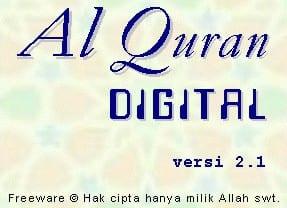 Software Al-Quran Digital 2.1