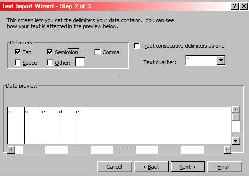 Cara Import Text File Ke Excel