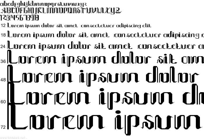 Kumpulan Font Keren Untuk Windows