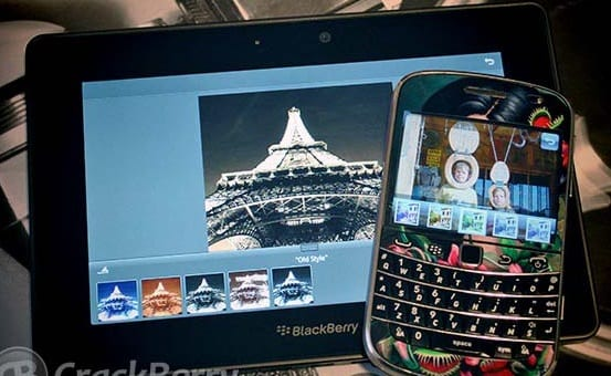 Photo Studio For BlackBerry Smartphone
