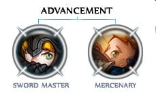 Swordmaster Vs Mercenary Di Dragon Nest Game