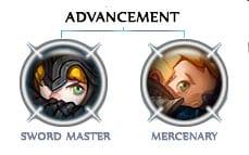 Swordmaster Vs Mercenary Di Dragon Nest Game