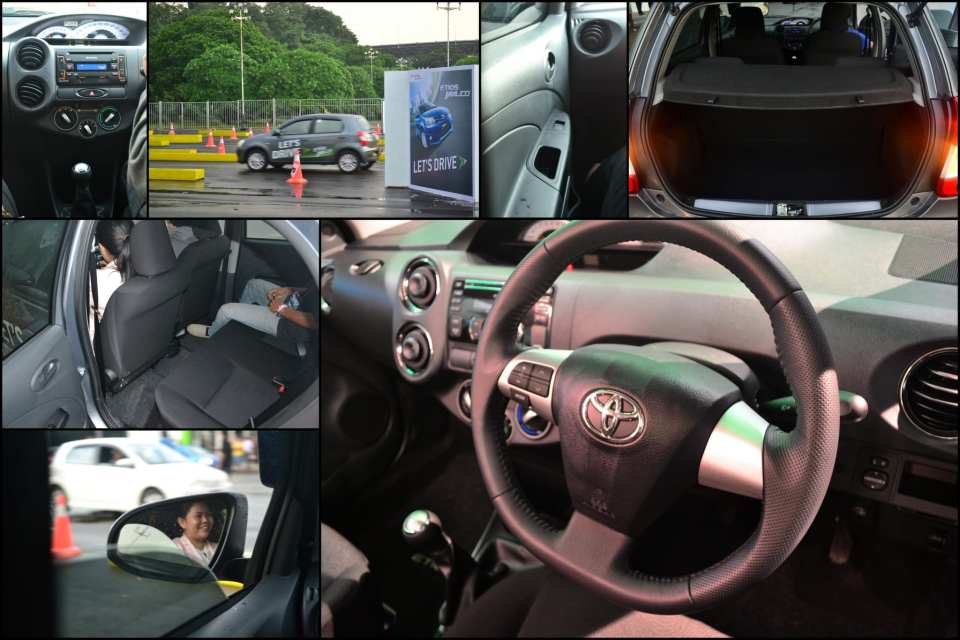 Test Drive Etios Valco