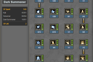 Skill Build Dark Summoner