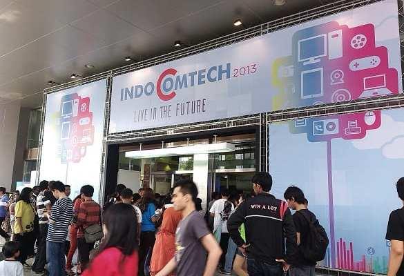 Hari Terakhir Penyelenggaraan Indocomtech 2013