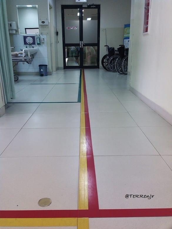 Menikmati Berkeliling Rumah Sakit